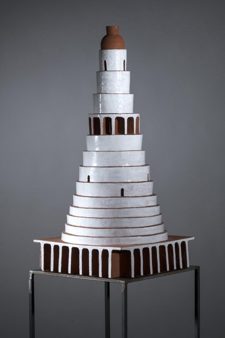 Tempel-2017-Keramik-glasiert-100x45x45-cm