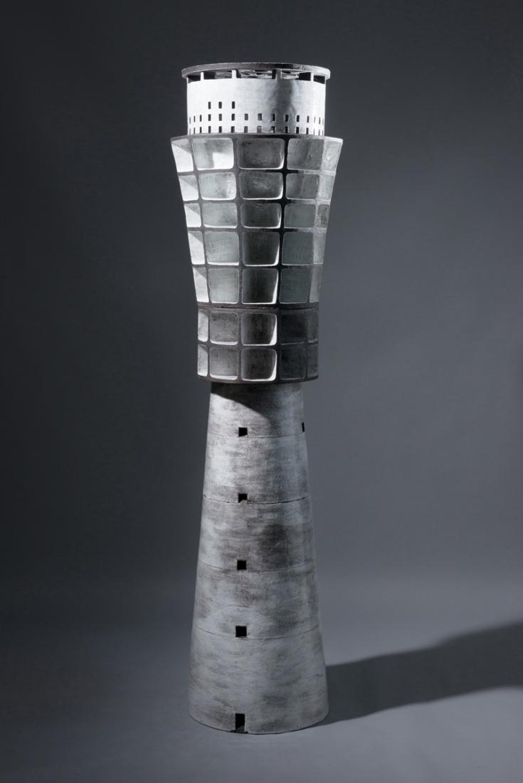 Turmspeicher-2014Keramik-glasiert-181x50x50